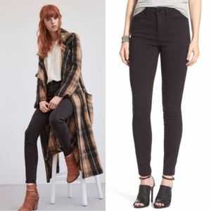 Free People 'Isabel' Jacquard Pants Jeans Textured